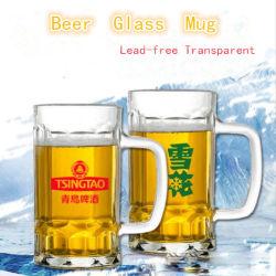 Festival de la bière de la publicité de bière en verre transparent de tasses chopes en verre de jus de thé de l'eau froide bouteille épaissir logo imprimé
