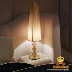 Hotel moderno proyecto de decoración de cristal lámpara de escritorio de cabecera (KA170301-1)
