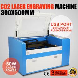 Обновленные новой 50W CO2 лазерная гравировка режущие машины с помощью вспомогательного контактного диска устройство высокого качества с высокой скоростью высокой точности