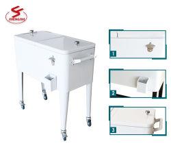 Carrello del dispositivo di raffreddamento del giardino, dispositivo di raffreddamento della corona dell'acciaio inossidabile con le rotelle