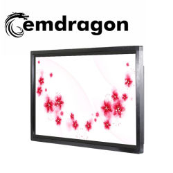 55-Zoll-LCD-Display für den Innenbereich drahtloser digitaler Bilderrahmen Wandmontierter Videoplayer-LCD für Werbung auf LED-Bildschirm