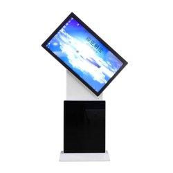 65 polegadas LCD de chão de duas faces interiores Kiosk interativo Digital Signage Leitor de Tela de toque LCD
