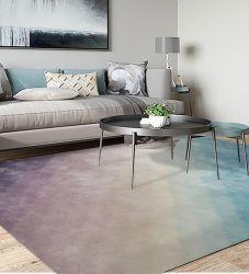 """Villa-de-chaussée de tapis et carpettes tapis mur à mur, de tapis en laine et de viscose nu et de la laine Silk dynamique Rug 10'*14"""", Banboo contemporain tapis en soie"""