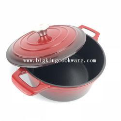 4.2 Quart-Gussaluminium-holländischer Ofen-Kasserolle für das Hauptkochen