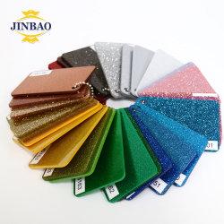 Jinbao Plaat fina decoración PMMA Color personalizado formulario vacío Acrilic emitidos 3mm 5mm Oro Perspex Glitter acrílico acrílico hojas