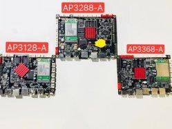 Quad Core Android Malí-T400 Placa RK3128 con chip para Monitor de publicidad