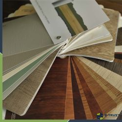 La laminación de PVC Film para el MDF/madera/partículas/PVC laminado hoja con el mejor plano
