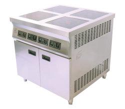 ステンレススチール製商用キッチン器具 4 プレート吸気調理器具との組み合わせ キャビネット