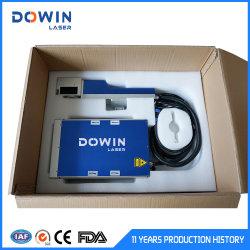 20W 30W Mini máquina de marcado láser de fibra de metal Mejor precio grabado para joyería Teléfono celular Autopartes Etiqueta de perro