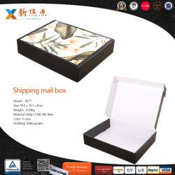 Kundenspezifisches Firmenzeichen-Drucken-Verschiffen-verpackenfaltende gewölbte Geschenk-Mailbox