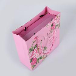 Borsa personalizzata esclusiva a colori stampata Business Luxury Shopping Paper Bag Borsa regalo