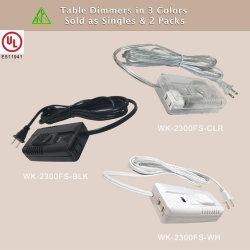 On-line линейных Wk-2300ПС 110-120 В переменного тока светодиодный индикатор ножной сдвиньте регулятор яркости освещения приборов