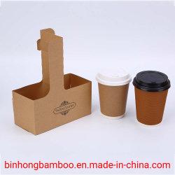 Café à emporter jetables café chaud Café et thé de la coupe du papier Définit écologique