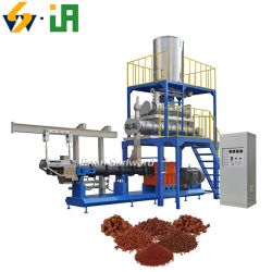 수류피시 펠렛 제작 기계 수생식 식품 생산 선 공급 압출기