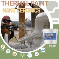 El aislamiento térmico de recubrimiento Industrial / /Tanque de Almacenamiento/recubrimiento resistente a alta temperatura recubrimiento de barrera térmica/ Spray refractarios pintura Namo