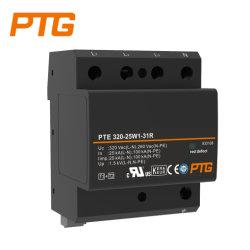 230/400VAC Ttの使用のための結合されたタイプ1 +2/Class I+II SPD DINの柵のサージ・プロテクターおよびTns Power Supply System、Ptg Corporationの製造