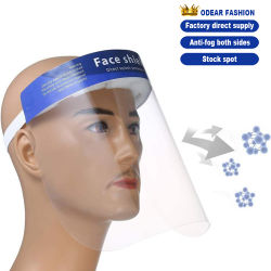 Chapéu máscara descartável Segurança Proteção Máscara viseira facial máscara de proteção facial
