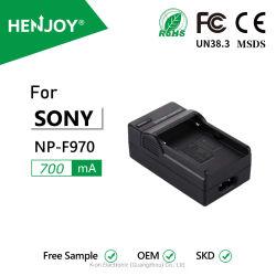 Henjoy ® F970 カメラバッテリー充電器、 Sony NP-FM50 、 FM70 、 FM90 、 FM30 、 FM500h 用、 FM51 、 FM55h 、 FM71 、 FM91 、 F550 、 F570 、 F750 、 F770 、 F960 、 F980 、 F990