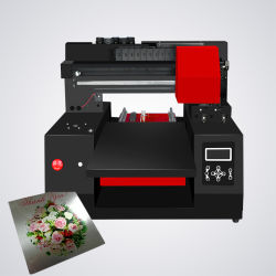На заводе Refinecolor 11лет Rzz1 одного блока цилиндров УФ-принтер может печатать почти планшет объектов CMYK +Ww УФ-принтер