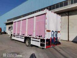 핫 세일 샤크만 4x2 경화물용 트럭(4X2 경광용 LHD) 미니밴 25톤 밴 트럭