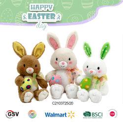 Ostergeschenk Kaninchen für Kind weich Plüsch und Stofftier