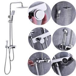27202A Китай оптовая торговля в стену латуни в ванной комнате под струей горячей воды скрытые скрытые душ,