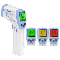 無接触デジタル額の赤外線温度計
