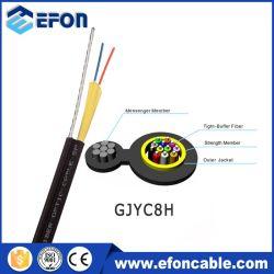 1 Kern-Faser-Optikgerät Slef-Unterstützte fester Buffer-rundes Transceiverkabel für FTTH Optikfaser-Kabel