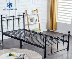 Домашняя мебель военных металлической раме утюг стали современными одна односпальная кровать