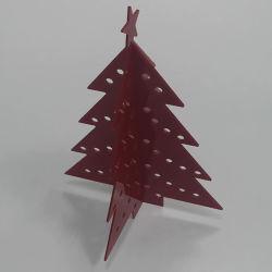 Adornos de fiestas del árbol de Navidad de acrílico