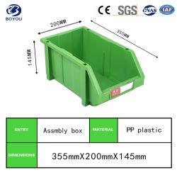倉庫のプラスチック収納用の箱のためのスタック可能高品質の道具箱