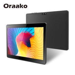 Tablet PC Android WiFi in plastica da 10 pollici con supporto in pelle Custodia da 8 GB ROM Rk3368 sbloccato Pad