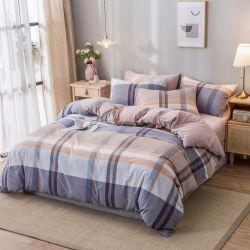 Drucken-Bettwäsche-Sets der Großhandelsform-4PCS modale mit flachem Blatt