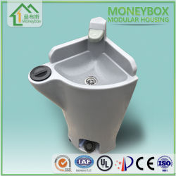 Le PEHD extérieur moderne Mobile gratuit socle permanent Lavabo lavabo