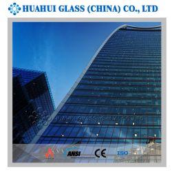 Claro mayorista aislado Bloque de vidrio templado de la construcción de muro de cristal