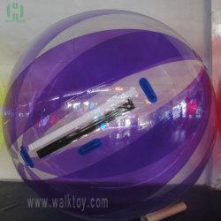 ماء رخيصة أرجوانيّة قابل للنفخ يمشي كرة