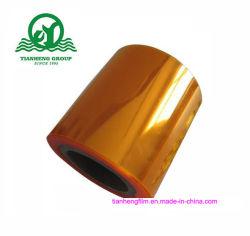 L'utilisation médicale Feuille en PVC de couleur orange pour l'emballage pharmaceutique