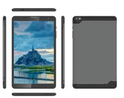 Fábrica de China 8pulgadas IPS 1280*800+163G 2 GB Android8.1 Google WiFi Gms mediados de Tablet PC con funda protectora resistente