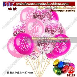 De Confettien van de Ballons van de Verjaardag van het Latex van de Levering 12inch van de Partij van Yiwu voor Ballon van de Partij van het Huwelijk van de Douche van de Baby de Douane Afgedrukte (B1129)