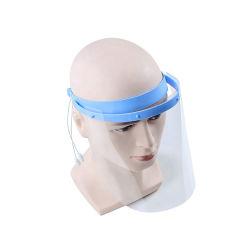 Protecção transparente descartável Anti-Fogging plástico protetor facial completo