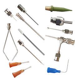 El apoyo de las agujas no estándar de metal personalizados agujas, jeringas de plástico