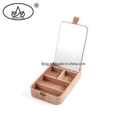 Weinlese-hölzerner Fach-Aschen-Ring-Geschenk-Organisator-Fall-verpackenspeicher-Schmucksache-Kasten