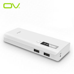10000mAh Quick Charging Portable Power Bank met LED Display