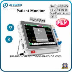 جهاز مراقبة مريض USB متعدد المعلمات بتقنية Bluetooth® الطبية قياس 10 بوصات تعمل باللمس