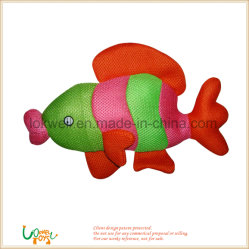 L'éducation en peluche doux animal en peluche Lunettes poisson Jouet de poupée