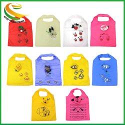 Животных дешевые складные Custom 190t полиэстер сумку для фальцовки