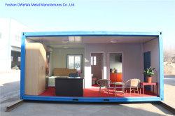 Bajo costo de la casa contenedor Modular 2 plantas, contenedor de Hogar y oficina Container