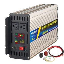 1000 Вт мощности инвертора солнечной энергии, использования в домашних условиях Чистая синусоида холодильник освещение TV используйте плату инвертора