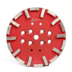 10 polegada 250mm Blastrac Diamond moagem do piso da roda da placa para piso de concreto