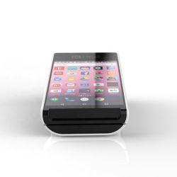 PT50 Mini Bluetooth móvil POS Máquina portátil impresora térmica de 58mm la máquina de la tarjeta de pago para el bus